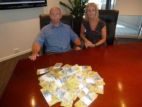 Breaking News – Couple collect $220K in cash from my office from Property Options